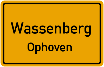 Lindenstraße in WassenbergOphoven