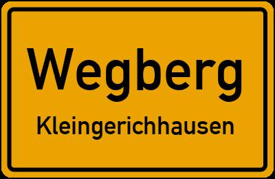 Ortsschild Wegberg Kleingerichhausen