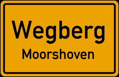 Ortsschild Wegberg Moorshoven