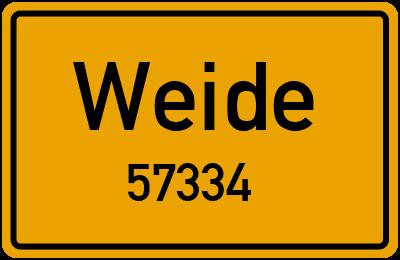 57334 Weide