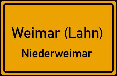 Amselweg in Weimar (Lahn)Niederweimar
