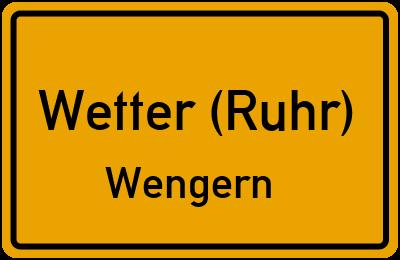 Amselweg in Wetter (Ruhr)Wengern