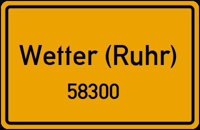 58300 Wetter (Ruhr)