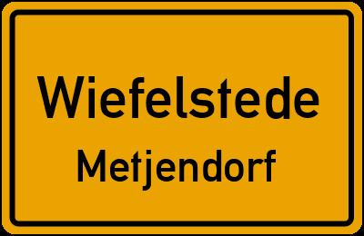 Straßenverzeichnis Wiefelstede Metjendorf