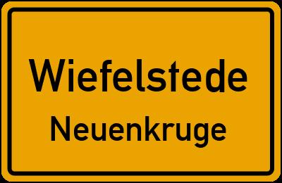 Straßenverzeichnis Wiefelstede Neuenkruge