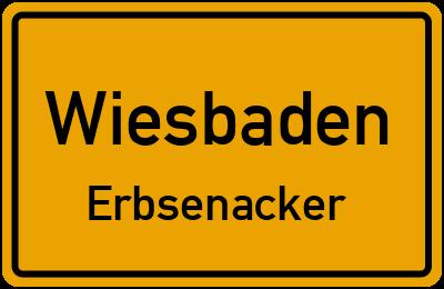 Straßenverzeichnis Wiesbaden Erbsenacker