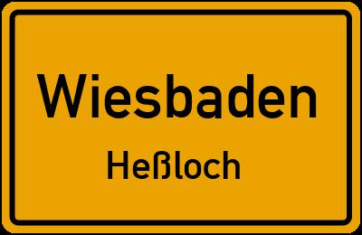 Straßenverzeichnis Wiesbaden Heßloch