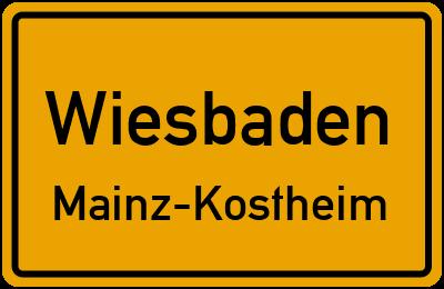 Maaraue in WiesbadenMainz-Kostheim