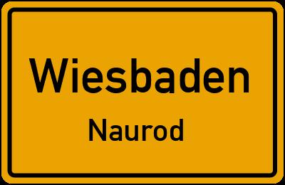 Straßenverzeichnis Wiesbaden Naurod