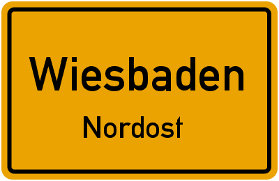 Hildastraße in WiesbadenNordost