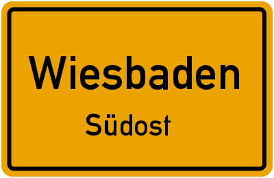 Straßenverzeichnis Wiesbaden Südost