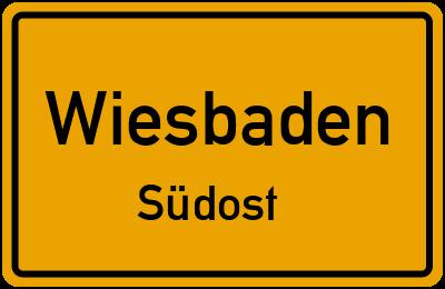 Klopstockstraße in WiesbadenSüdost