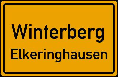 Straßenverzeichnis Winterberg Elkeringhausen