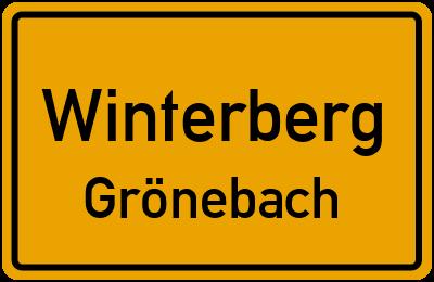Straßenverzeichnis Winterberg Grönebach