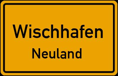 Ortsschild Wischhafen Neuland
