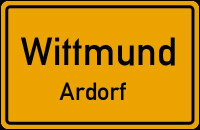 Amselweg in WittmundArdorf