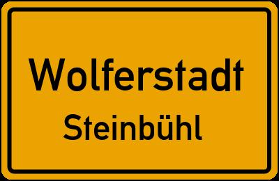 Ortsschild Wolferstadt Steinbühl