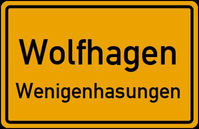 Hasunger Straße Wolfhagen Wenigenhasungen