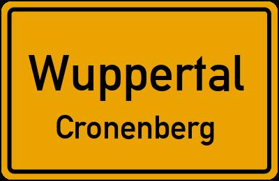 Görresweg in WuppertalCronenberg