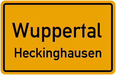 Thomastraße in WuppertalHeckinghausen