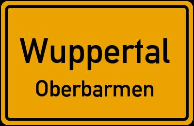 Brändströmstraße in WuppertalOberbarmen