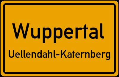 Borsigstraße in WuppertalUellendahl-Katernberg