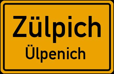 Pfarrer-Jägers-Straße Zülpich Ülpenich