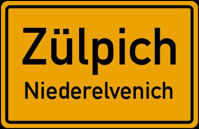Wichtericher Straße in ZülpichNiederelvenich
