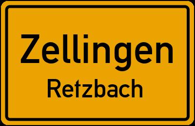 Ortsschild Zellingen Retzbach