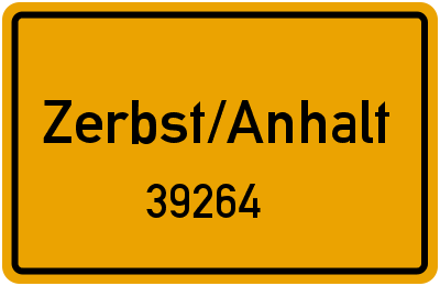 39264 Zerbst/Anhalt