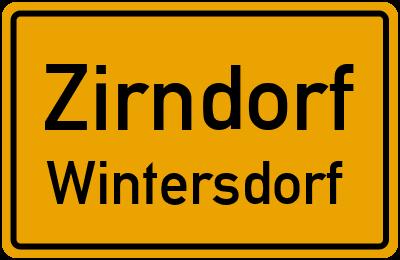 Lilienstraße in ZirndorfWintersdorf