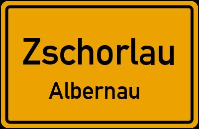 Wiesenweg in ZschorlauAlbernau