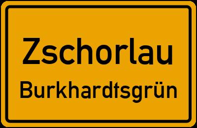 Straßenverzeichnis Zschorlau Burkhardtsgrün