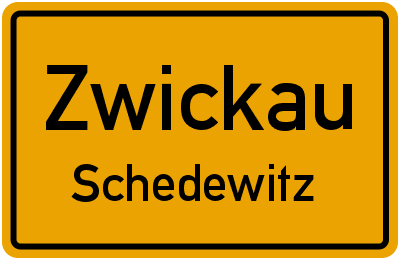 Tonstraße in ZwickauSchedewitz