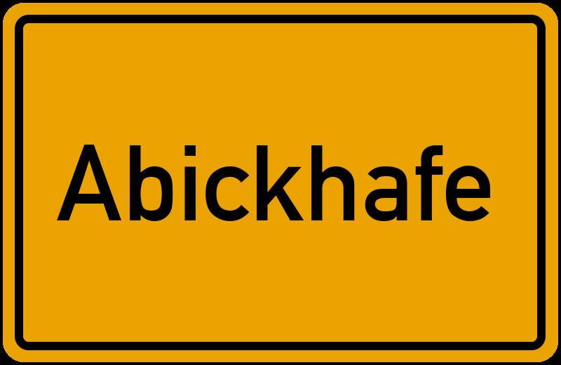 onlinestreet Branchenbuch für Abickhafe