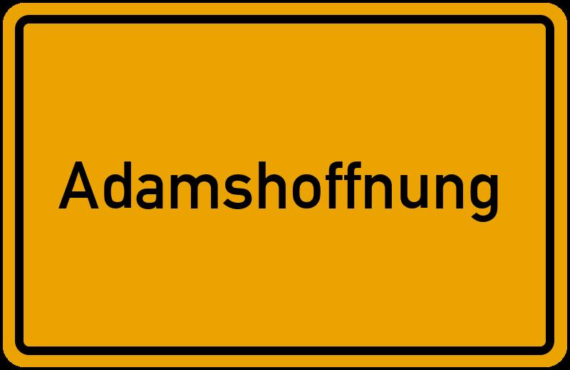 onlinestreet Branchenbuch für Adamshoffnung