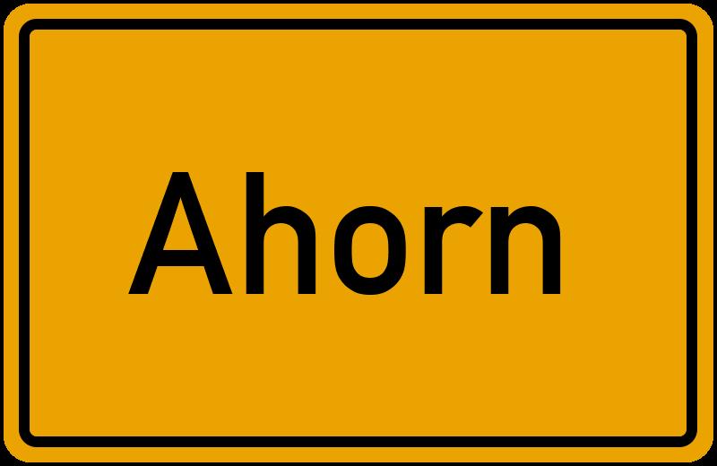 onlinestreet Branchenbuch für Ahorn