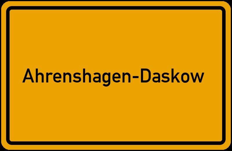onlinestreet Branchenbuch für Ahrenshagen-Daskow