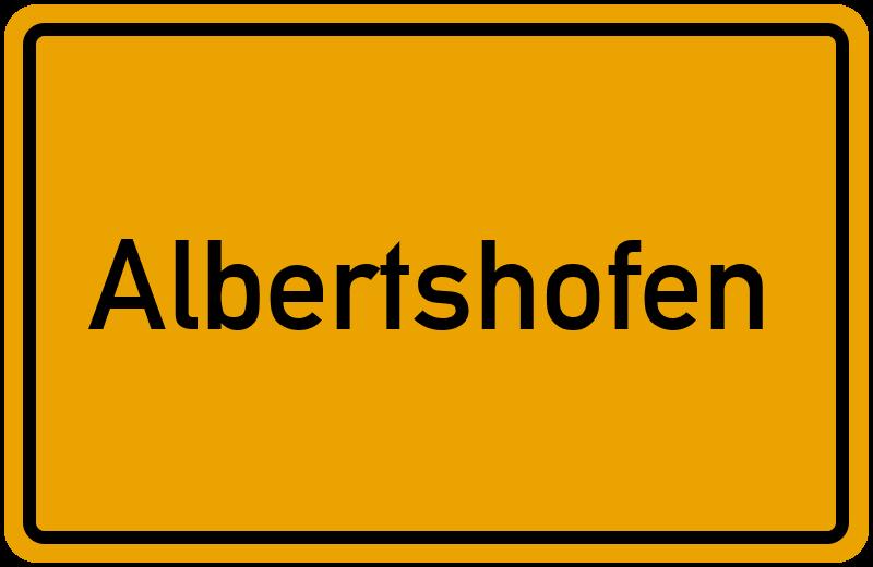 onlinestreet Branchenbuch für Albertshofen