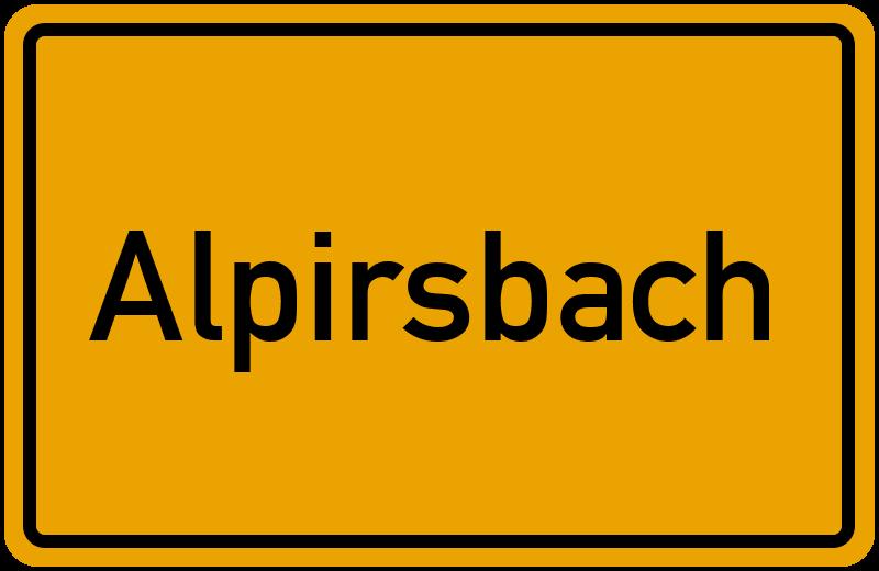 onlinestreet Branchenbuch für Alpirsbach