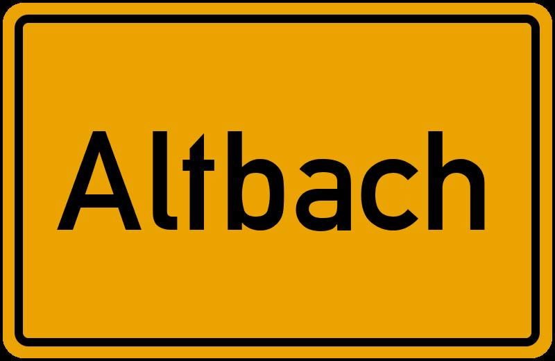 onlinestreet Branchenbuch für Altbach