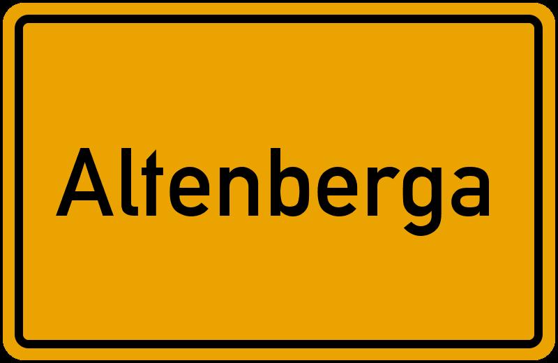 onlinestreet Branchenbuch für Altenberga
