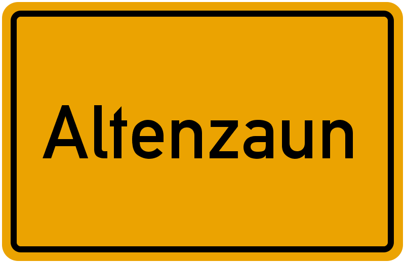 onlinestreet Branchenbuch für Altenzaun