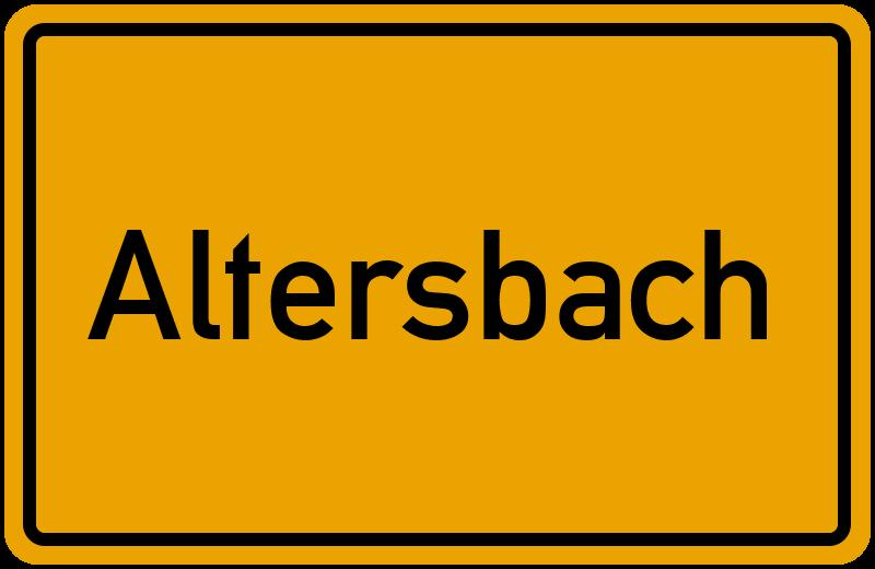 onlinestreet Branchenbuch für Altersbach