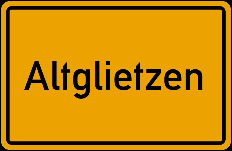 onlinestreet Branchenbuch für Altglietzen