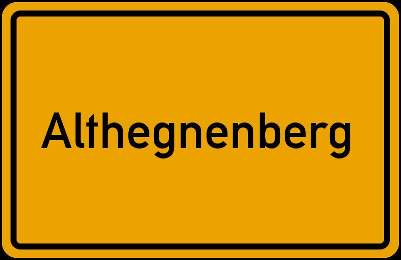 onlinestreet Branchenbuch für Althegnenberg
