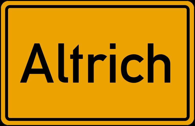onlinestreet Branchenbuch für Altrich