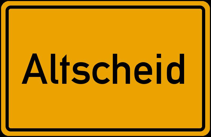 onlinestreet Branchenbuch für Altscheid