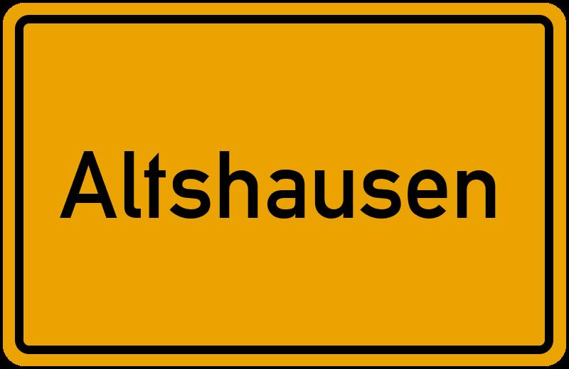 onlinestreet Branchenbuch für Altshausen