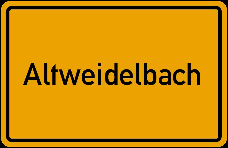 onlinestreet Branchenbuch für Altweidelbach
